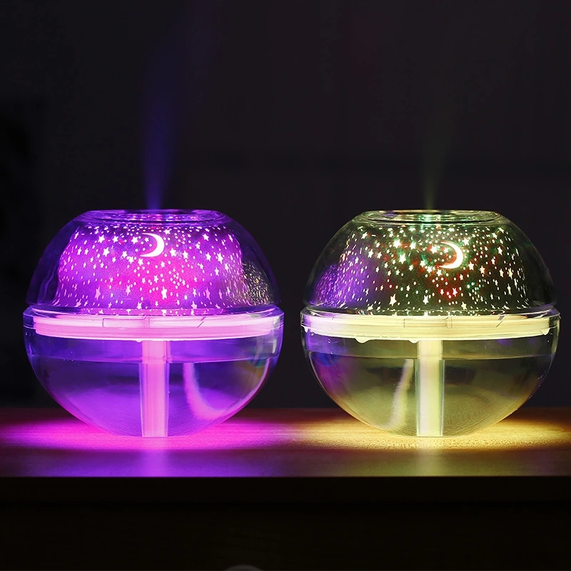 SaengQ USB Air Humidifier Night Light Humidifier With Colorful LED Lights Mute Aroma Atomizer Diffuser Home Mist Maker