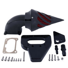Aluminum Black Spike Air Cleaner Kits Intake Filter For Honda VTX 1800 VTX1800 2002-2009 2008 цены