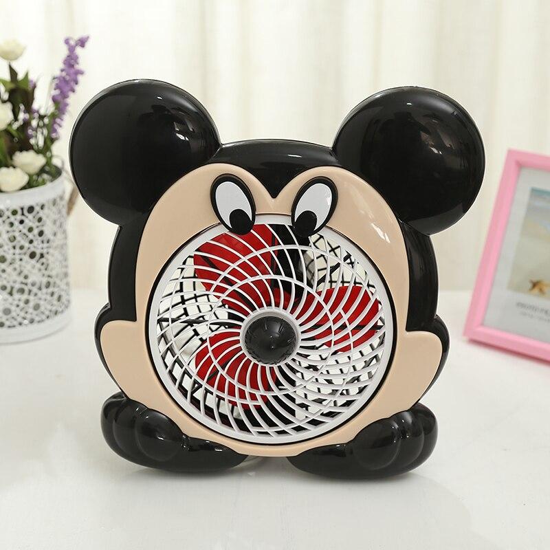 Bande dessinée Micky souris forme ménage ventilateur électrique avec 3 m ligne étendue 220 V ventilateur Portable électrique pour bureau école EU/AU/UK