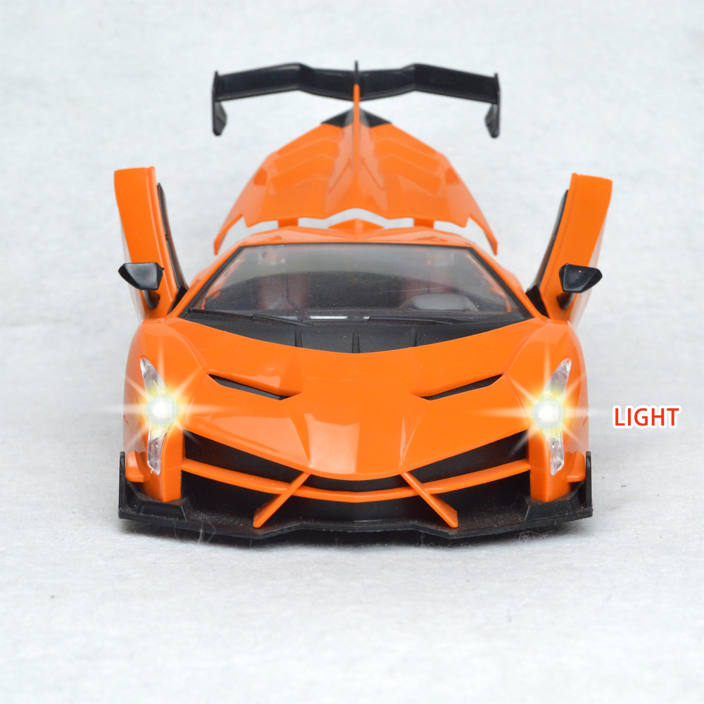 01 20 4 Channel Electric Rc Remote Controlled Car Children Toy Model Gift Electric Deformation Toy Cars With LED Light in RC Cars from Toys Hobbies