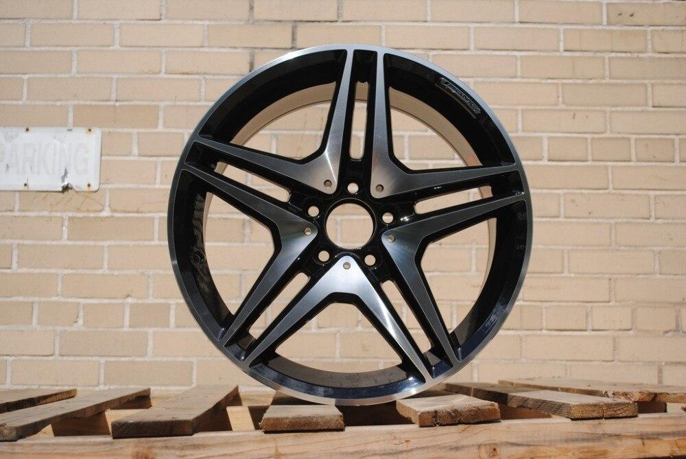 19 AMG Style Rims 19x8 5 ET 35 5x112 Fits Mercedes Benz E C S Class
