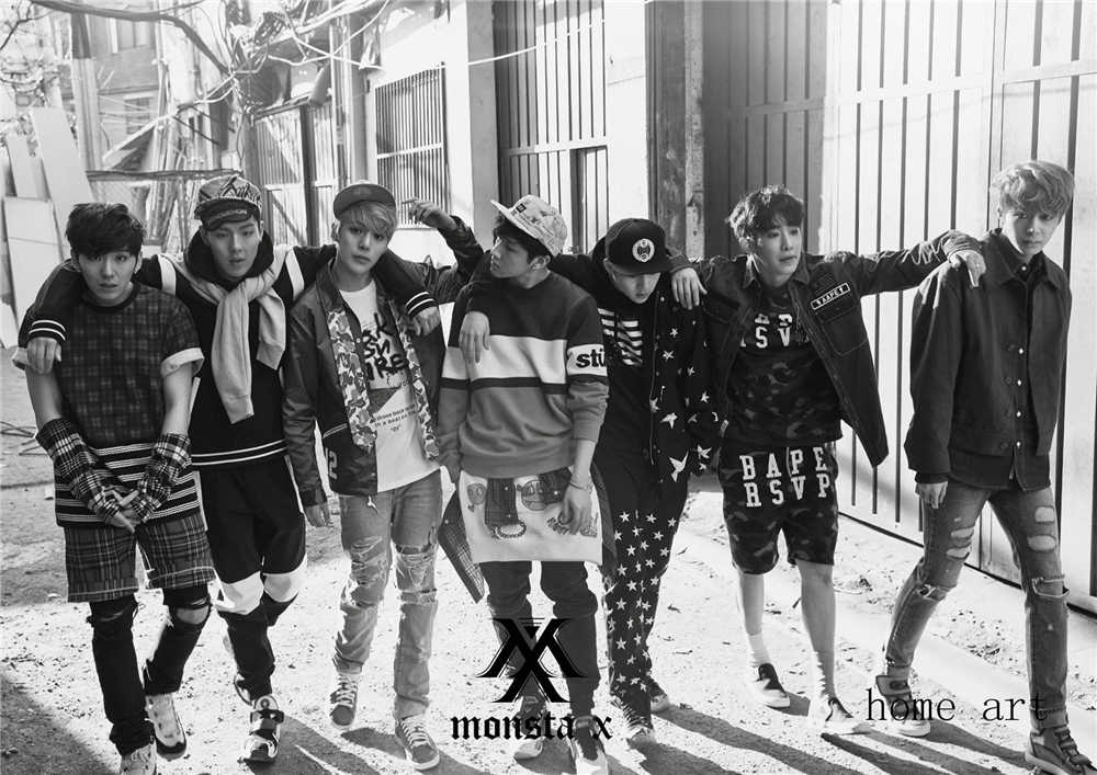 Detail Feedback Questions About Monsta X Korean Band Posters
