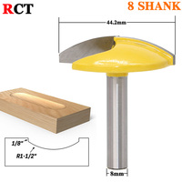 Radius Horizontal Crown Router Bit 8mm Shank