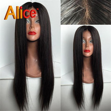 7A Silk top full lace human hair wigs silky straight glueless unprocessed 9A Top virgin Brazilian silk top lace wig black women