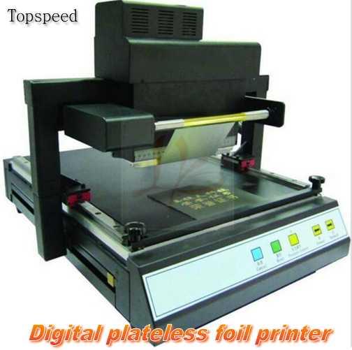 Digital Automatic Foil Printer Flat Gilding Press Machine Hot Foil Stamping Machine For A3 A4 Book Covers цены