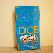 цена на Challenge Sequence DICE Game Card Bar entertainment props Strategy Card Family Fun Exciting Multiplayer Board Games