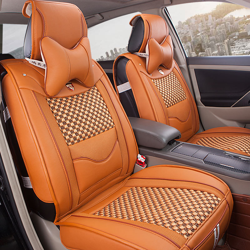 Car Seat Spring And Summer All Leather Upholstery Cover To Fight Auto Supplies Wholesale Behalf Hwlj7 On Aliexpress
