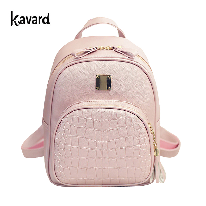High Quality Backpack Women Backpacks Alligator School Bags For Girls Pu Leather Softback Black Bagpack Small sac a dos ecole dida bear brand quality women leather backpacks female school bags for girls rucksack small drawstring bagpack sac a dos gray