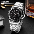Top Brand Luxury Men Watches 30M Waterproof Ultra Thin Date Clock Male Steel Strap Casual Quartz Watch Men Sports Wrist Watch
