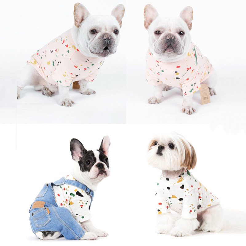 PipiFren Small Dogs Clothes Coat Costume Cats French Bulldog For Pets Clothing Spring Clothes ubranka dla psa manteau chien ...