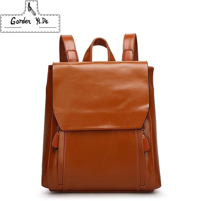 все цены на Women Backpack Women's PU Leather Backpacks Female School Backpacks For Teenage Girls Shoulder Bags Student Casual Bag