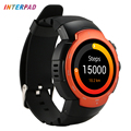 2017 Interpad Smart Watch Android IOS MTK6580 Quad Core With Samsung Heart Rate Chip Sport Tracker WIFI GPS Smartwatch PK KW88