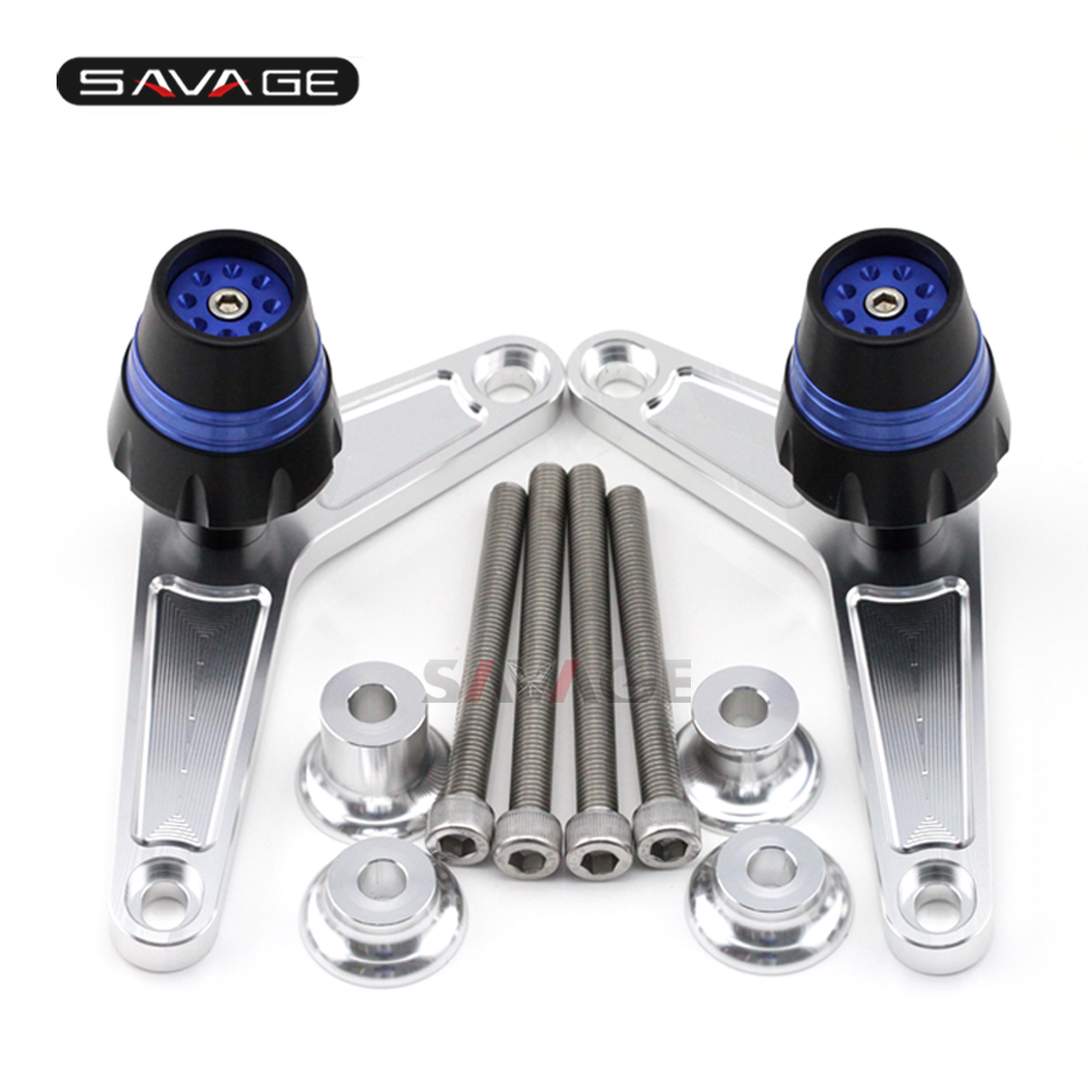 Frame Slider Crash Protector For BMW F800R F 800R 2009-2016 Motorcycle Accessories Bobbins Falling Protection for honda cbr 1000rr cbr1000rr 2008 2009 2010 2011 gold motorcycle frame slider crash protector bobbins falling protection