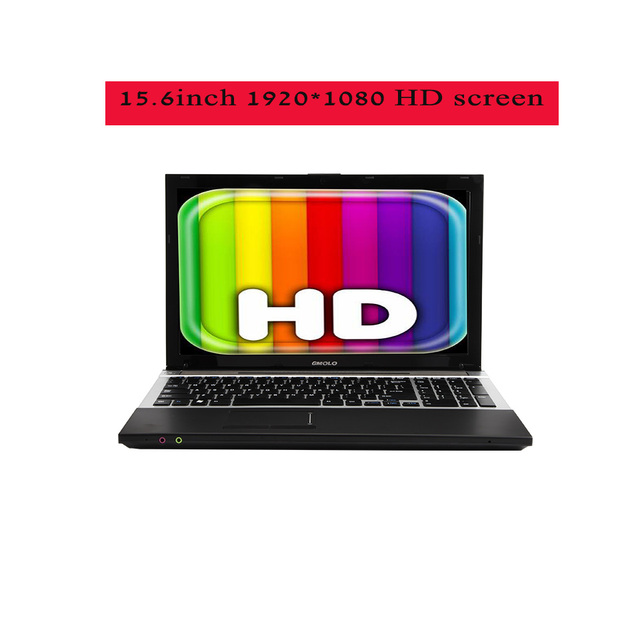 15.6inch Core I7 gaming notebook computers 8GB RAM Maxi 240GB SSD +1TB HDD 1920*1080 screen DVD ROM free shipping laptop