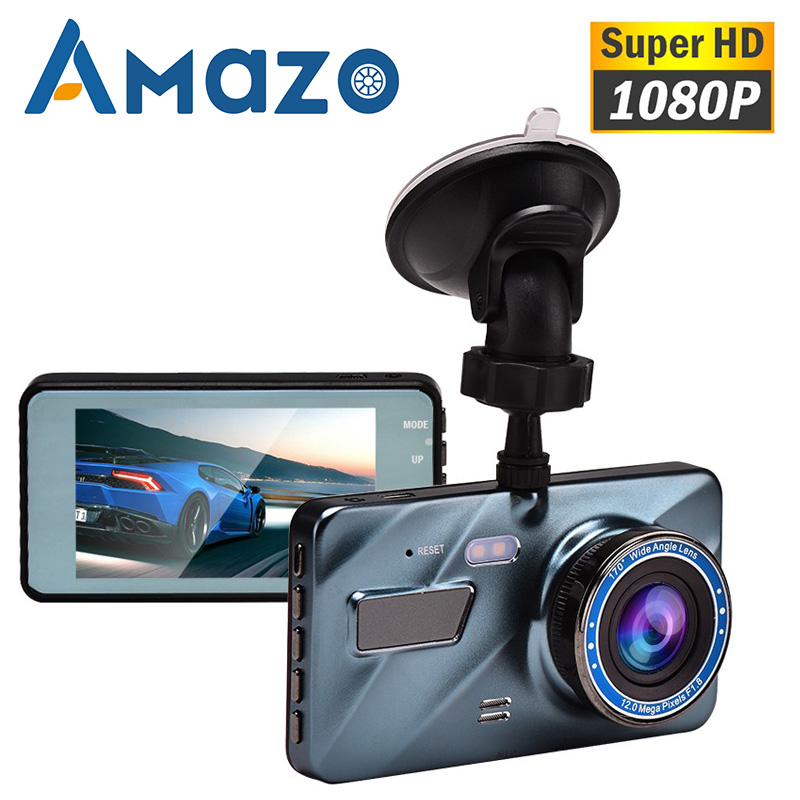 Car DVR Dash Camera 1080P Full HD Cycle Recording Night Vision Parking Monitor G sensor 170 Degree Wide Angle 3.6 Inch Dashcam