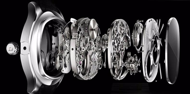 Uhr neueste Luxus Tourbillon 6