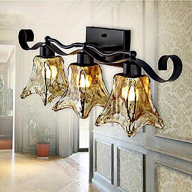 pays style vintage led salle de bains miroir lampe avec 3 lumires luminaires led mur lampe - Appliques Vintage Industrielles Pour Salle De Bain