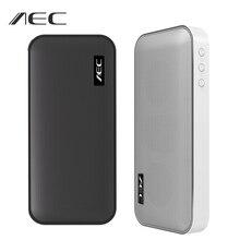 AEC BT 205 محمول باس سمّاعات بلوتوث صغير مكبر الصوت اللاسلكي ستيريو الموسيقى مكبر الصوت ميكروفون مدمج دعم TF بطاقة