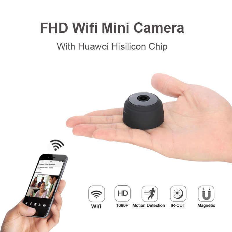 620ec939e A9 Wifi Mini cámara Full HD 1080 P visión nocturna Micro cámara IP ...