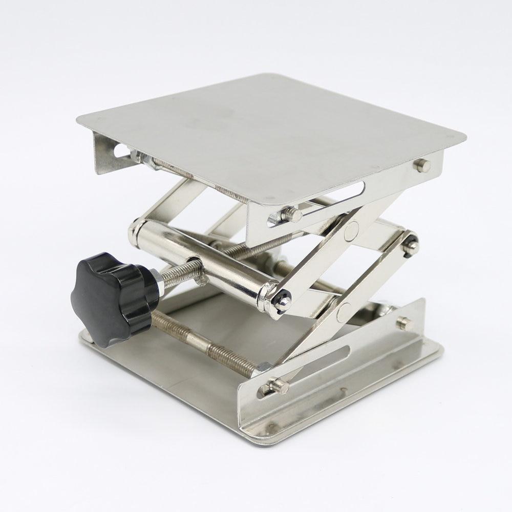 Πλατφόρμες ανύψωσης 4Χ4 '' από ανοξείδωτο χάλυβα Πλατφόρμες ανύψωσης με πλαστικές λαβές για εργαστήρια