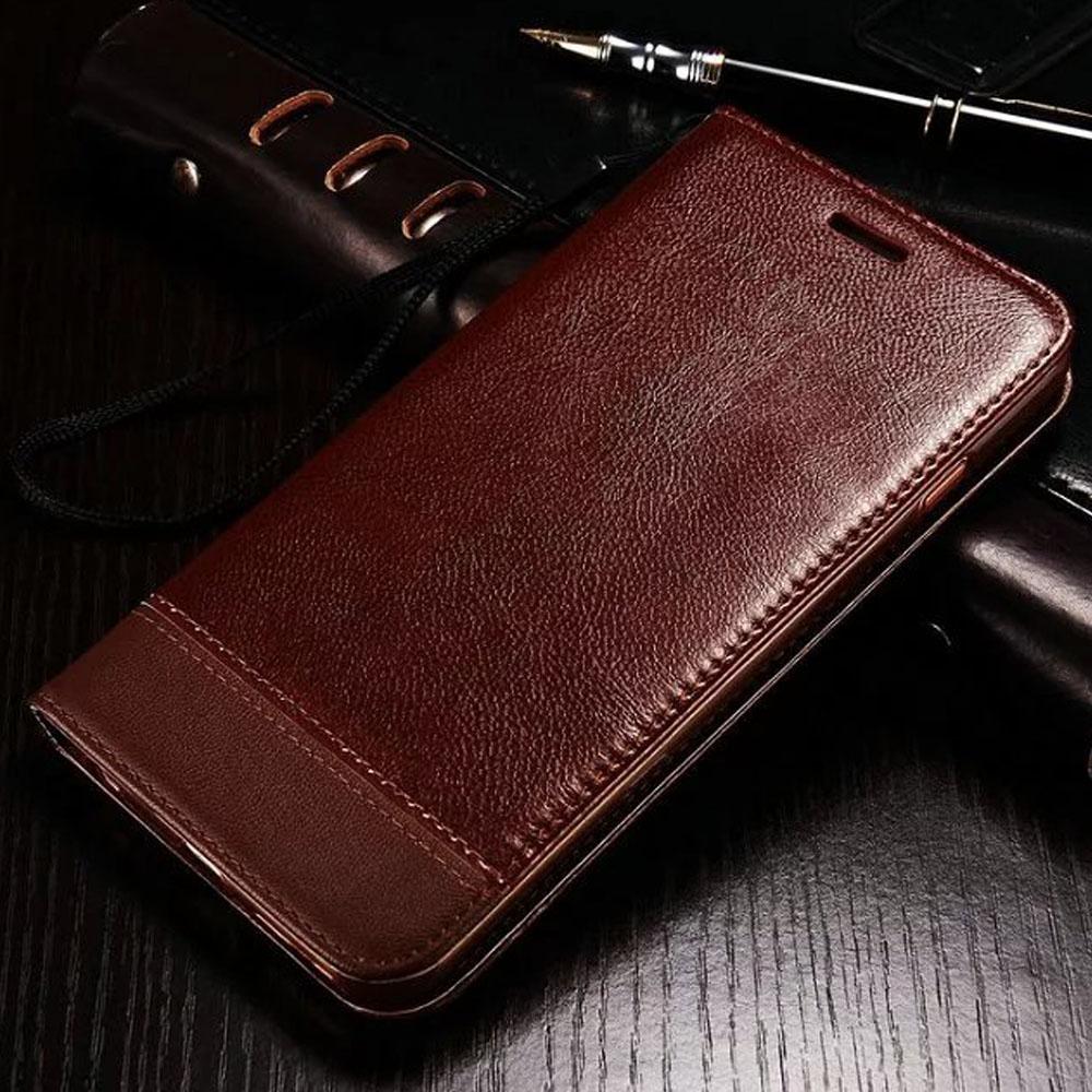 Luxury Business Wallet Filp Phone Case For Apple iPhone 6 6s Plus Coque 7 7Plus 5 5S SE Capa Card Slot PU Leather Phone Funda