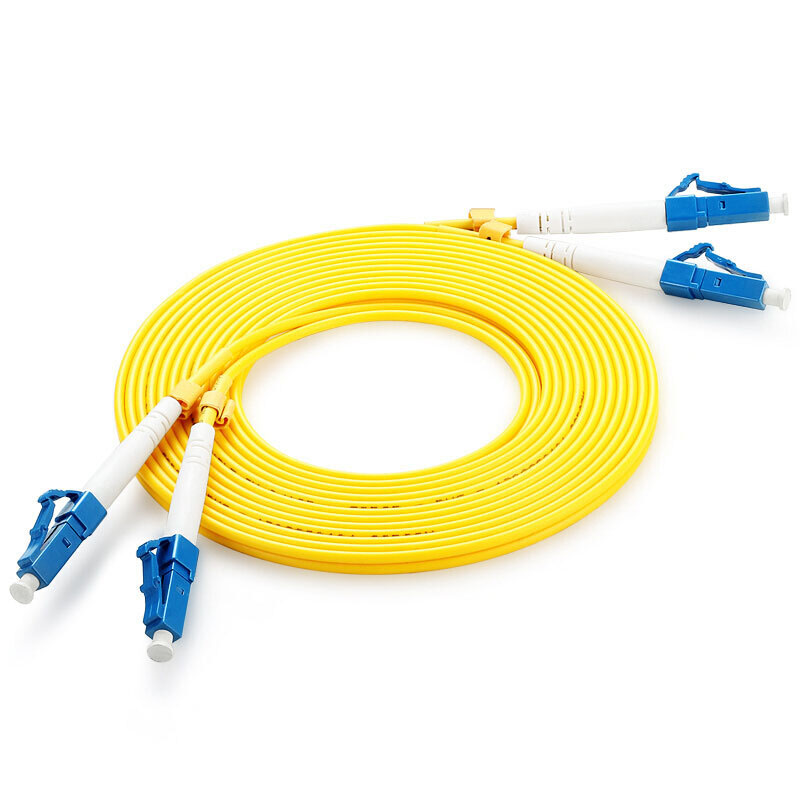 Optical fiber jumper telecommunication grade LC-LC network cable single mode core 1.5 meters 3 5 high speed