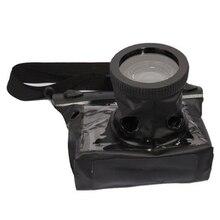 Nuevo Caso Negro 20 M Subacuática Impermeable Caja de La Cámara RÉFLEX DIGITAL SLR para Canon 5D III 5D2 7D 60D 600D D700 forNikon D5100