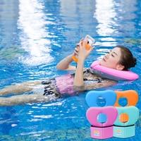 ソリッド安全必要はありませインフレータブルフローティングネックリング水泳フロートプールアクセサリー大人ベビースイミング機器