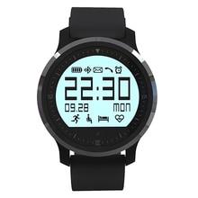 Бесплатная доставка Смарт часы F68 наручные часы SmartWatch IP67 Водонепроницаемый сердечного ритма Мониторы шагомер Colck Часы