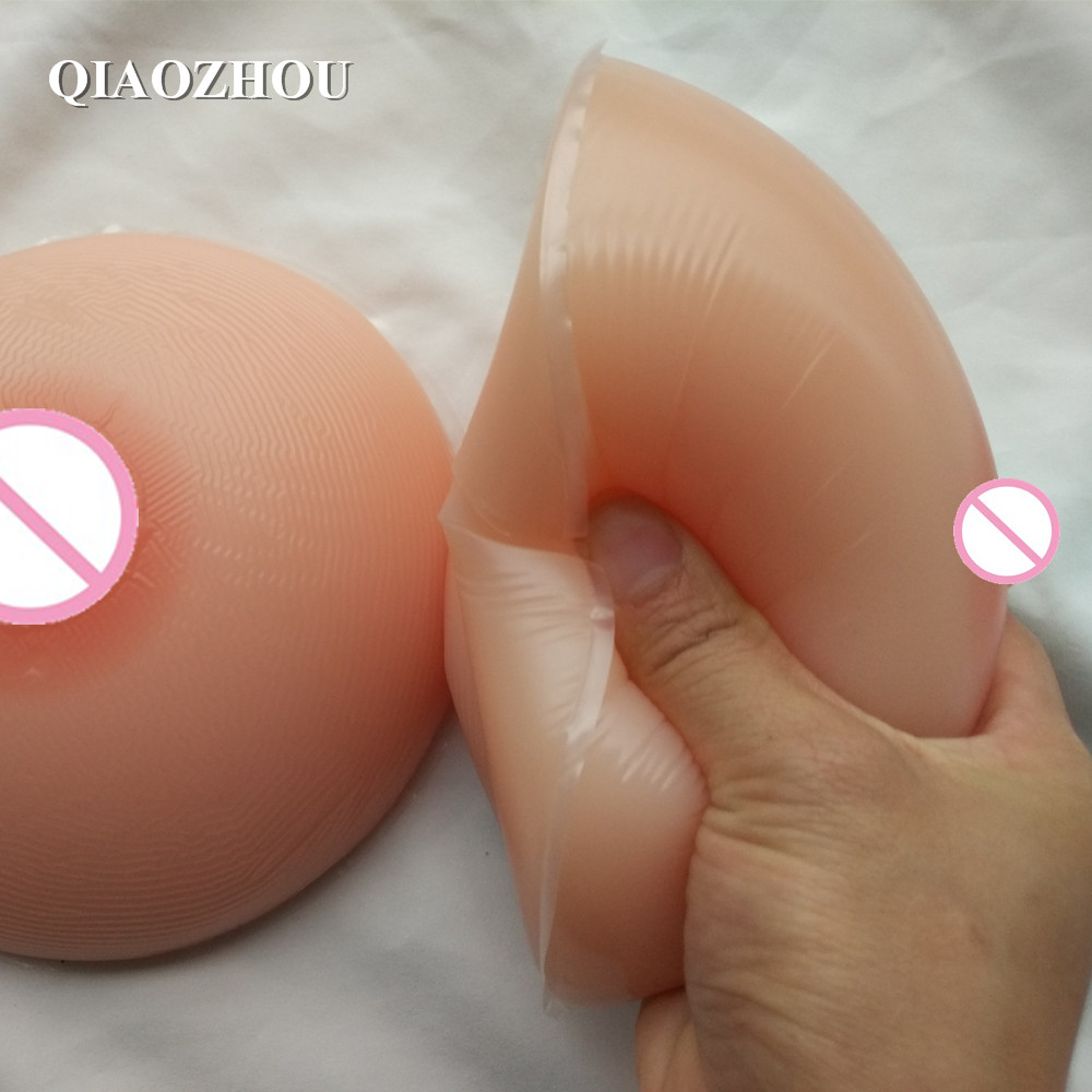 F cup 1800g/pair fake silicon breasts transgender and crossdressing breast form цена