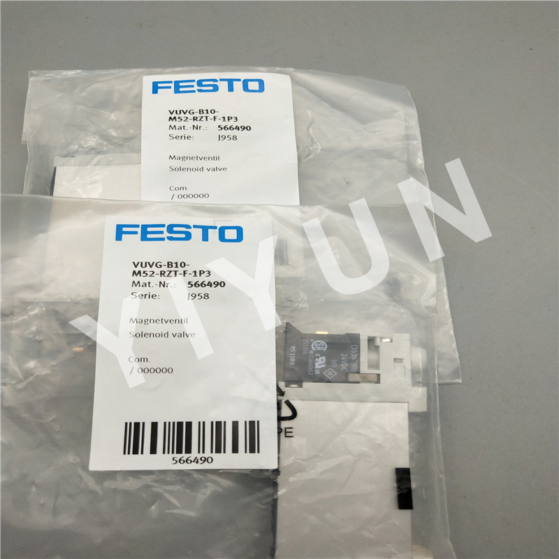 FESTO 566454  Magnetventil  VUVG-L10-T32C-AT-M5-1P3