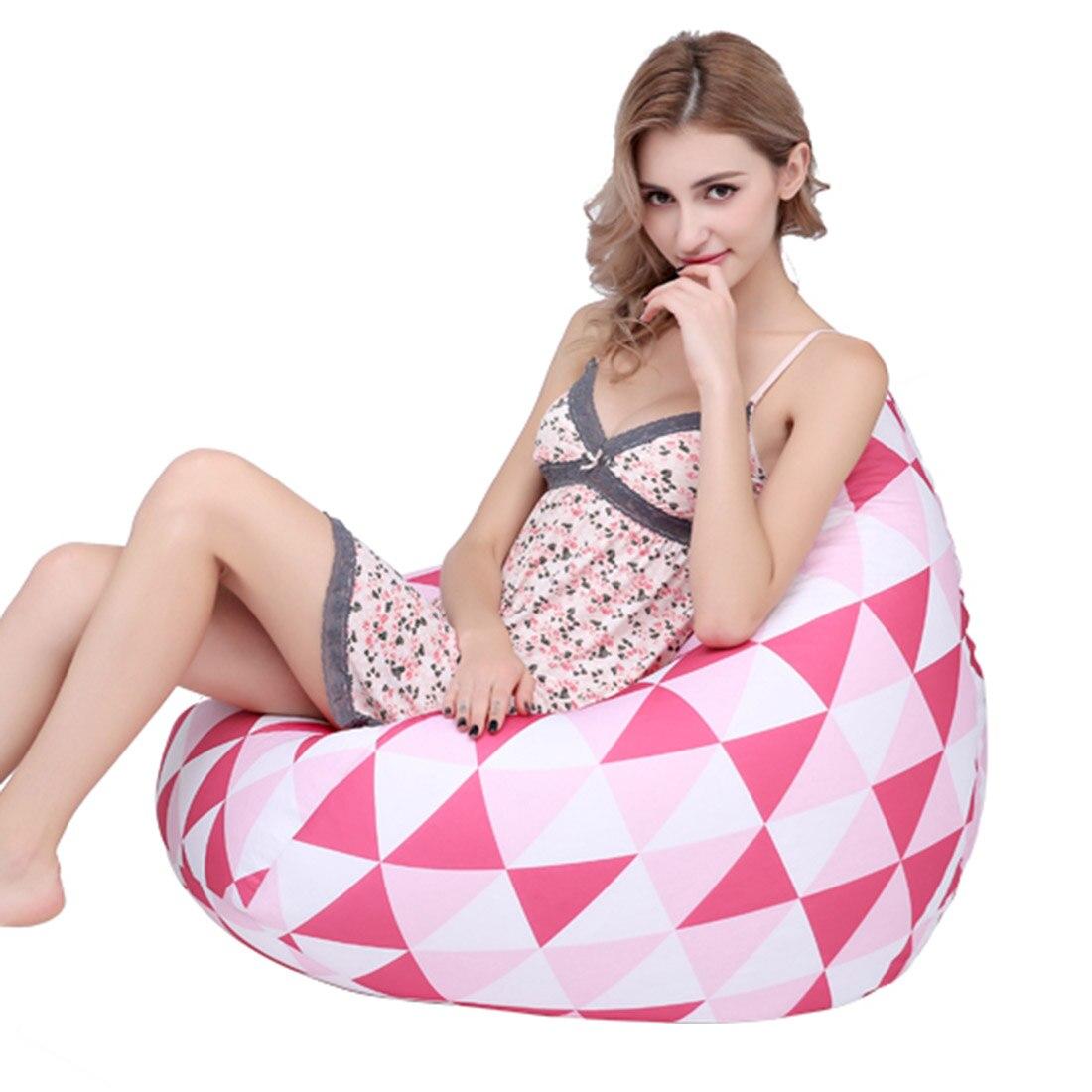 Relax paresseux pouf canapés moderne salon chaises haricot sac paresseux pouf canapés pour adultes enfants lecture salon paresseux canapés