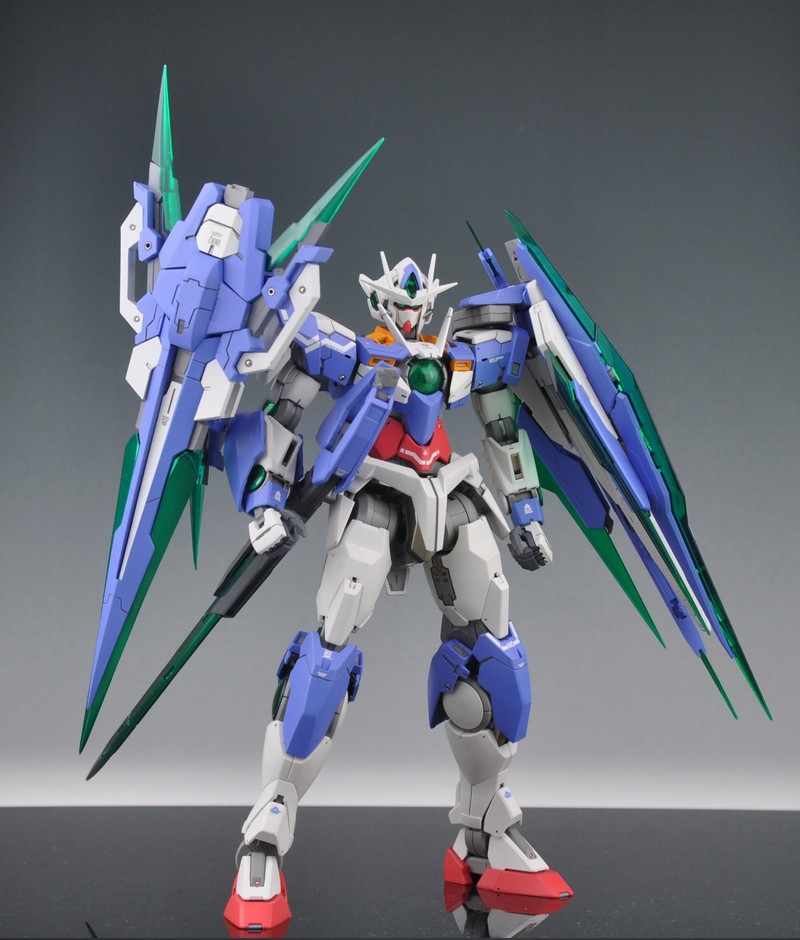 ФОТО Daban Japanese Master  Gundam MG 1100 00Q GN SWORD IV robot action figure plastic model kits toys