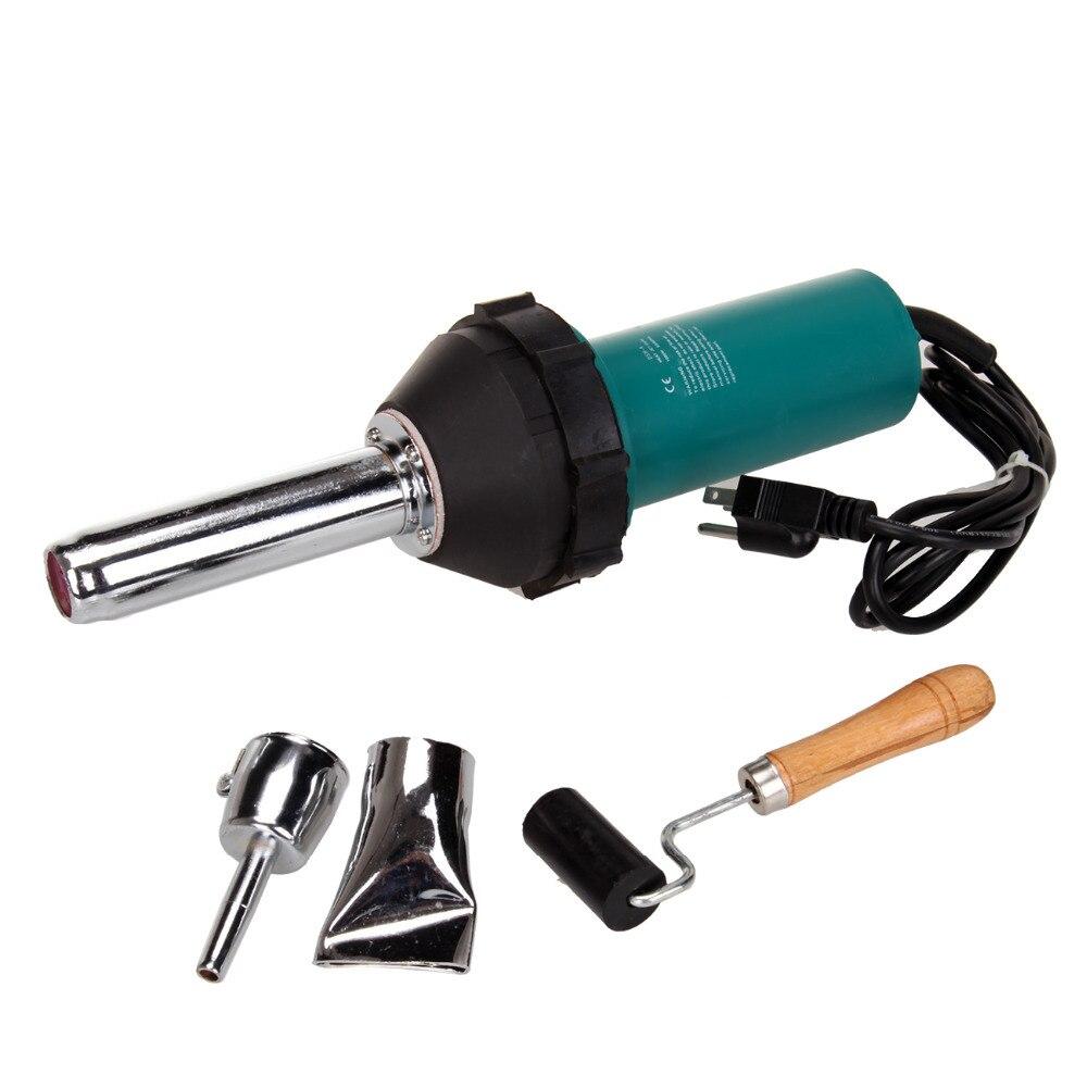 Hot Air Torch Plastic Welder 1080W  220V  Welding Gun Welding Torch + Roller Washer wax welder