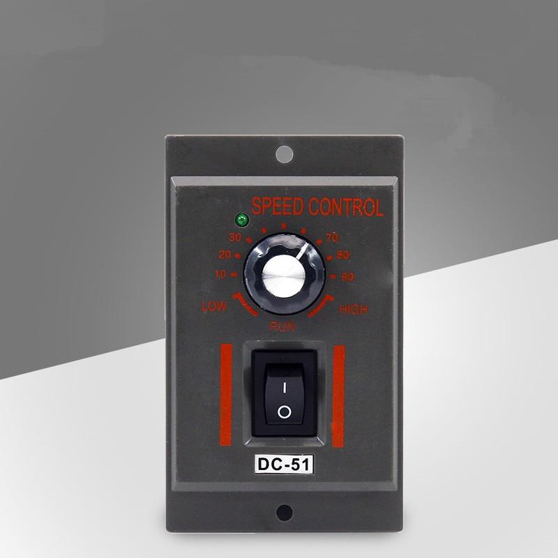 1PCS Motor Speed Controller AC 220V 50HZ Green LED indicator 6 terminals on/ off 90V1PCS Motor Speed Controller AC 220V 50HZ Green LED indicator 6 terminals on/ off 90V