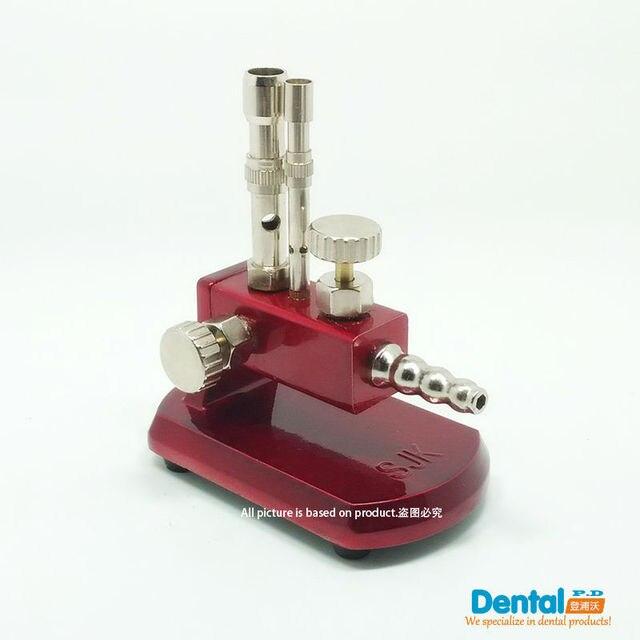 Dental Luz De Gas/Equipo De Laboratorio Dental De Laboratorio Micro Mechero Bunsen Doble Tubo Giratorio Gas Propano Luz Dentista JT-25