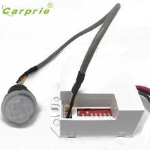 Carprie AC 220 В инфракрасный PIR ИК-датчик движения выключатель для светодиодные лампы 800 Вт Max L61220 Прямая поставка