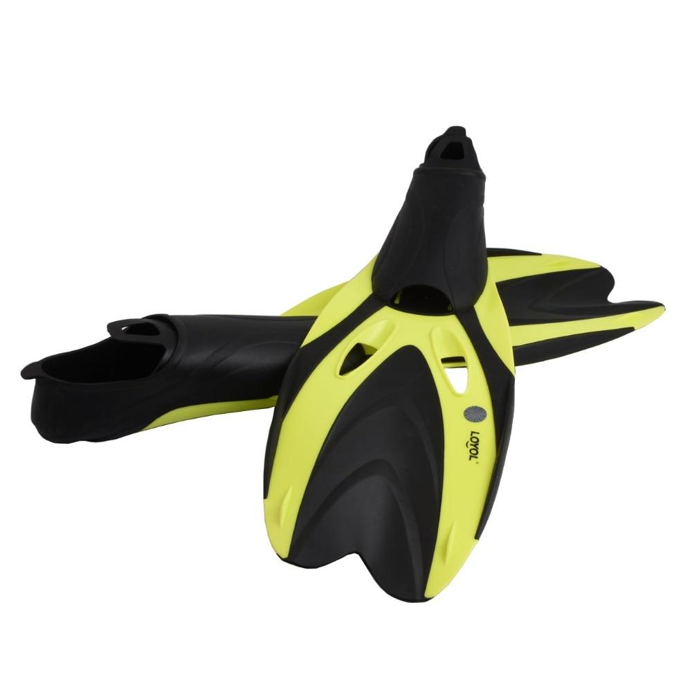 Adultes palmes de plongée professionnels hommes et femmes palmes de natation équipement Submersible plongée en apnée monofin chaussures de plongée