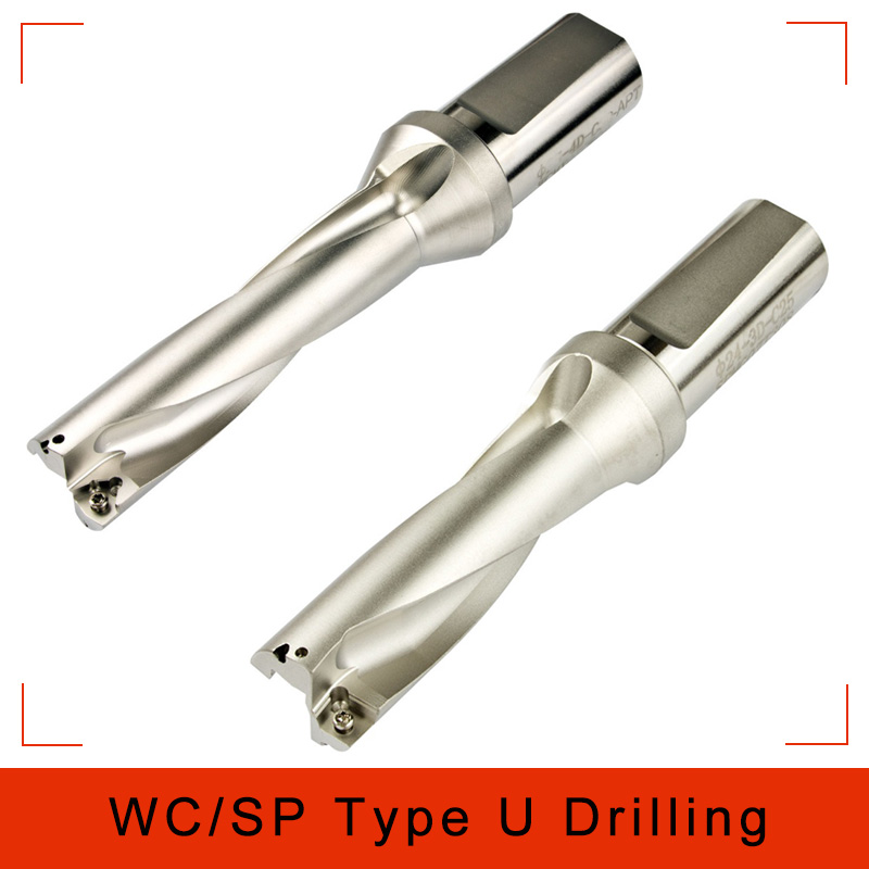 WC/SP C25-3D-SD21 22 23 24 25 Indexable Insert Drill U Fast Drilling Shallow Hole CNC Lathe Metal Drill for Indexa Insert wpd145 c20 3d u drill indexable drill 14 5mm 3d internal cold drill wcmt0402 wcmx0402