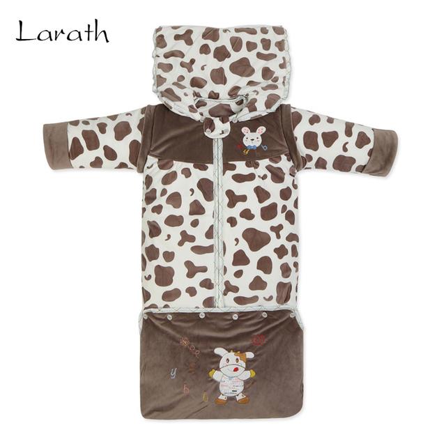 LARATH Juego para 0-3 T de Algodón Terciopelo Saco de Dormir Del Bebé Lavable Bebé Cochecito Accesorios