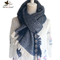 Women Men Winter Knitted Scarf and Wrap Pure Color Long Woolen Wrap New Fashion Soft Warm Neck Ring Scarf for Winter