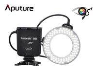 Aputure AHL-HC100 CRI 95 + Amaran Halo LED Ring Flash Ánh Sáng Speedlight đối với Canon EOS 7D 6D 50D 5D Mark II III 700D DSLR Máy Ảnh