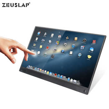 15.6inch 1920X1080P FHD with Touching Function Mini Portable Monitor Screen for PS4/Switch/Samsung DEX/Huawei EMUI/Hammer TNT - DISCOUNT ITEM  24% OFF All Category