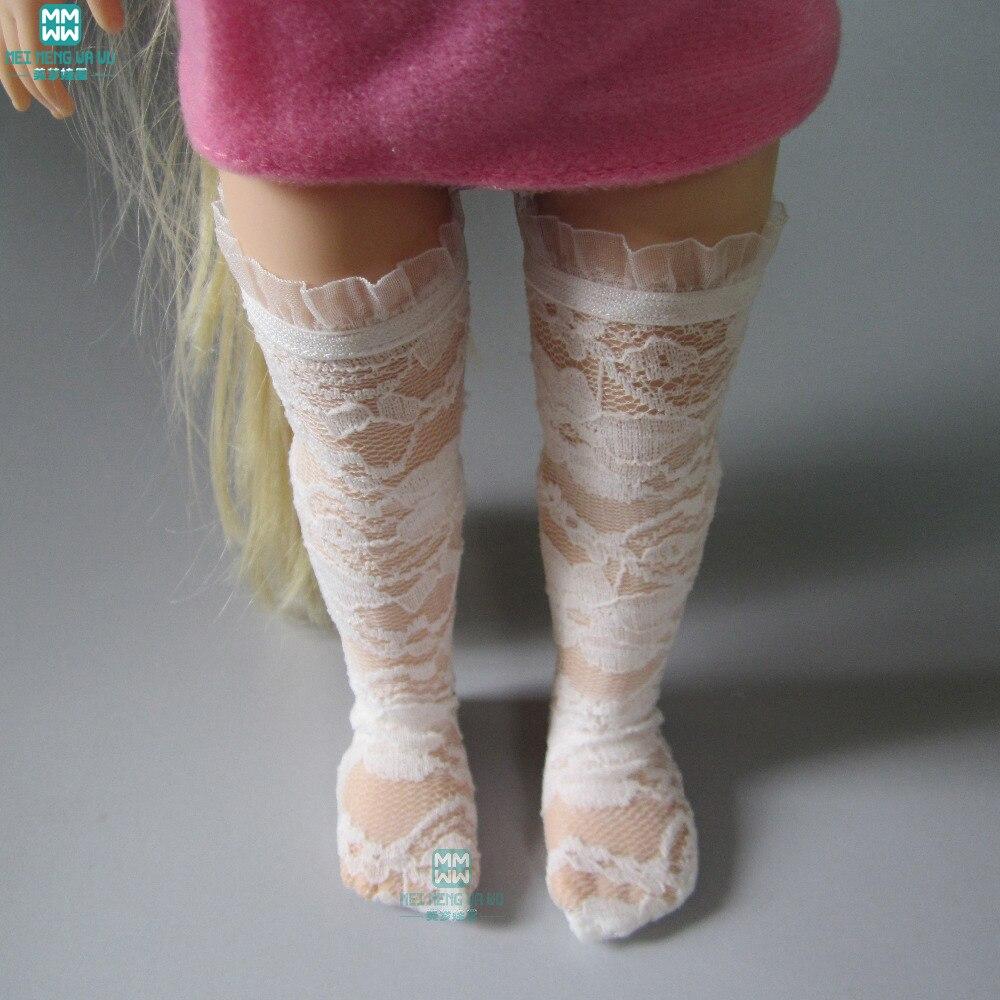גרביים בסדר מתאים 40-43cm של נסיכה סינדרלה אנה אלזה אביזרים עבור בובות