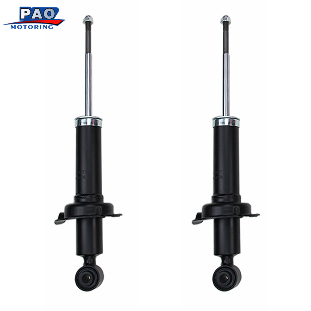 2PC New Rear Left and Right Pair Shocks Struts Absorber For 2001-2005 Honda Civic ,2001-2003 Acura- EL OEM 71340 Car suspension kingsun rear adjustable ball joint camber control suspension arm kit for 1990 1997 honda accord acura cl tl1996 1999 blue