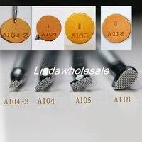 Кожа резьба печати инструменты большой дизайн сетки A118/A105/A104/A104-2 кожа штамп