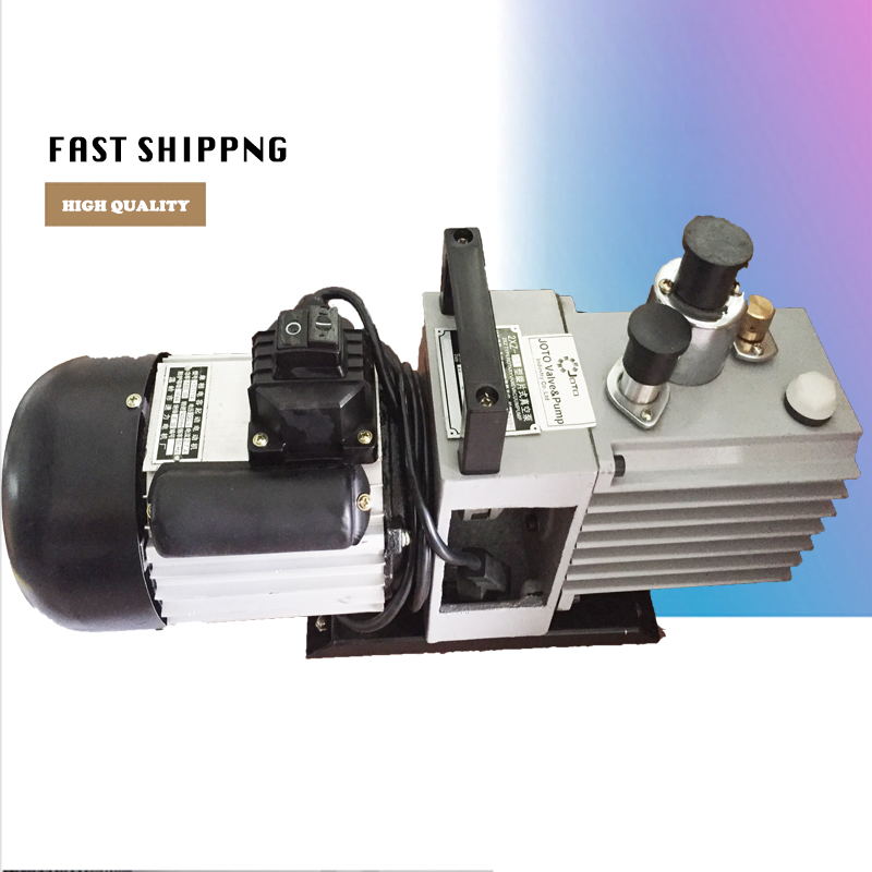 цена на Double Stage 2CFM HVAC AC Air tool Refrigeration Rotary Vane Air Vacuum Pump 2xz-1