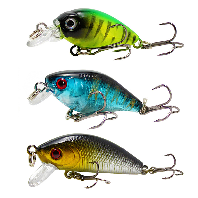 купить Amlucas Wobblers Fishing Lure 4 Model Minnow Hard Bait Artificial Quality Crankbait Fishing Tackle Swim bait Fish Pesca WW336 по цене 25.67 рублей