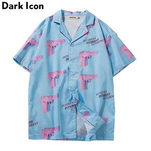 Turn-down Collar Hawaii Style