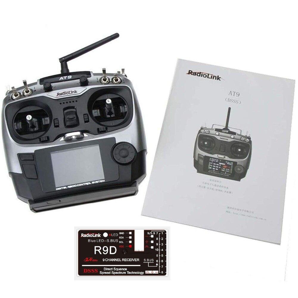 Radiolink 2.4G AT9 R9D Remote Control System 9CH TX & 6CH RX Mode 2Radiolink 2.4G AT9 R9D Remote Control System 9CH TX & 6CH RX Mode 2